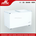 350L (12.4 Cu.ft) sliding Glass dorr large chest freezer CE CB RoHS SD-350Q