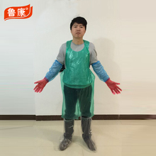 disposable PE apron for roll/plastic apron/salon cape