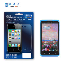 Manufacturer! Crystal High Clear Screen Protector Rear Projection Screen Film For Touch Screen With Retail Packaging for lenovo