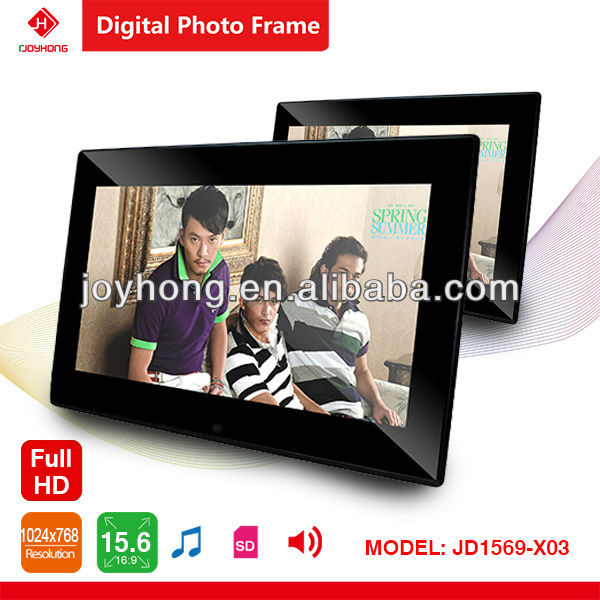15.6 inch WIFI full function Digital photo frame (WIFI/4GB Memory/Android 4.1/ Picture /Music/Video/Calendar /Clock)