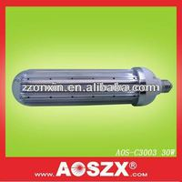 Patented product fr AOSZX 3000lm Replace CFL High Bay Post Lamp E27 E40 SMD 3014 12V/24V 30 watt led corn lamp