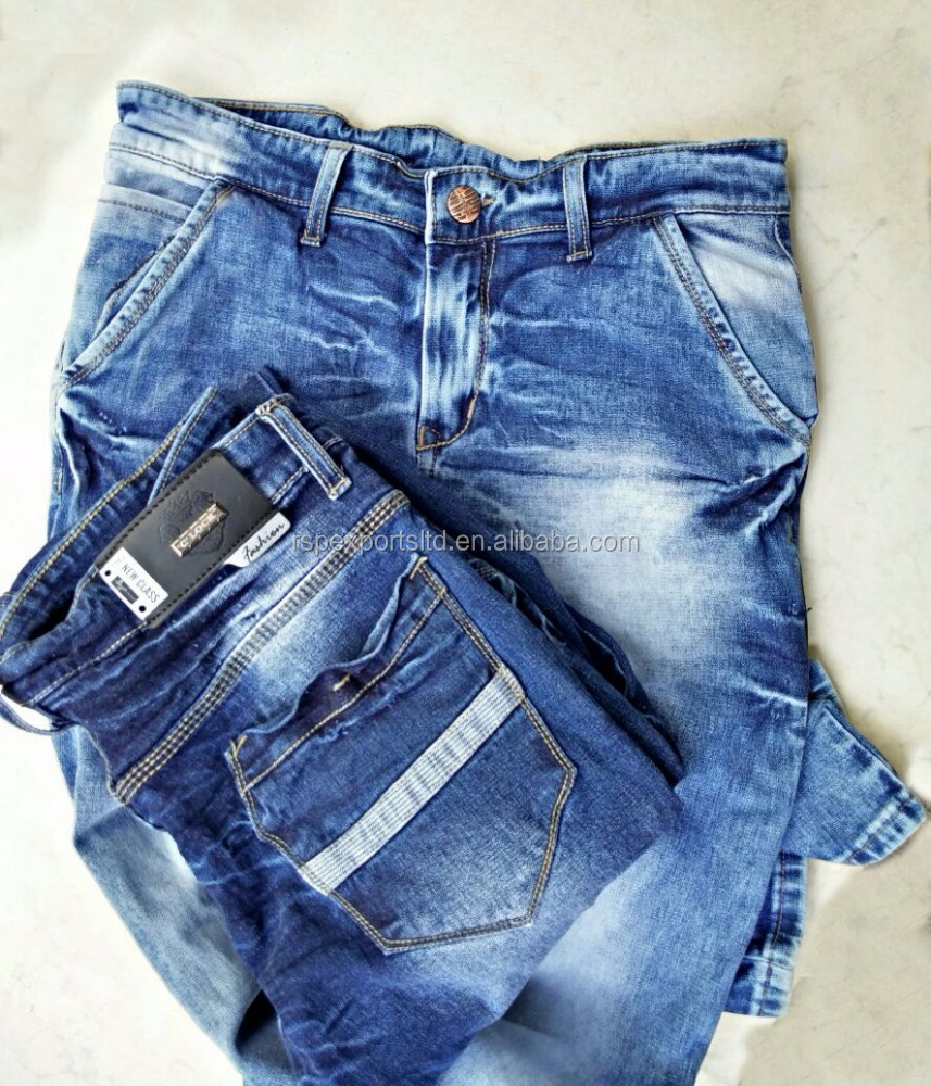 new fashion designs men denim jeans with good price