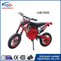 high quality 500w mini electric motorcycle with CE certification