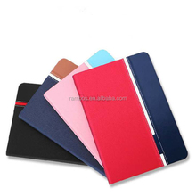 Credit Card and Flip Stand Leather Tablet Customized Case 10.1 inch for Samsung P5200/ Glaxy Tab 3