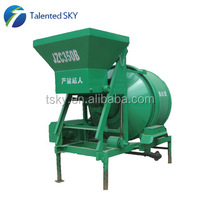 Self Loading Portable Concrete Mixer Machine TJZC350B