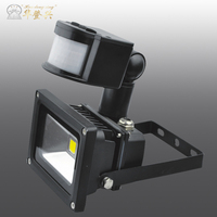 Hot sale China radio fm 10w color changing outdoor led flood ligh :