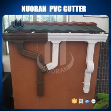 NUORAN popular hot sell PVC valley gutters for rain carrying