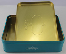 Chiese Food Box Chocolate Box Colored Metal Tins