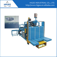 Semi-auto carton gluing machine