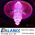 luxury chandelier fiber optic contemporary crystal light for hotel