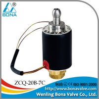 8.5mm output male M8x0.75 steam cleaning machine 110V 120V 220V 230V Electric Valve ZCQ-20B-7C