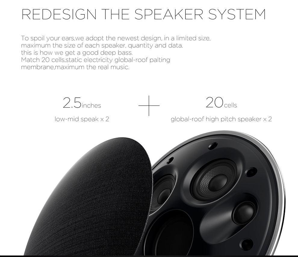 Portable Wireless Bluetooth Speaker Stereo Rechargeable Bluetooth Speakers with Built in Mic for Smartphone,PCs,tablet