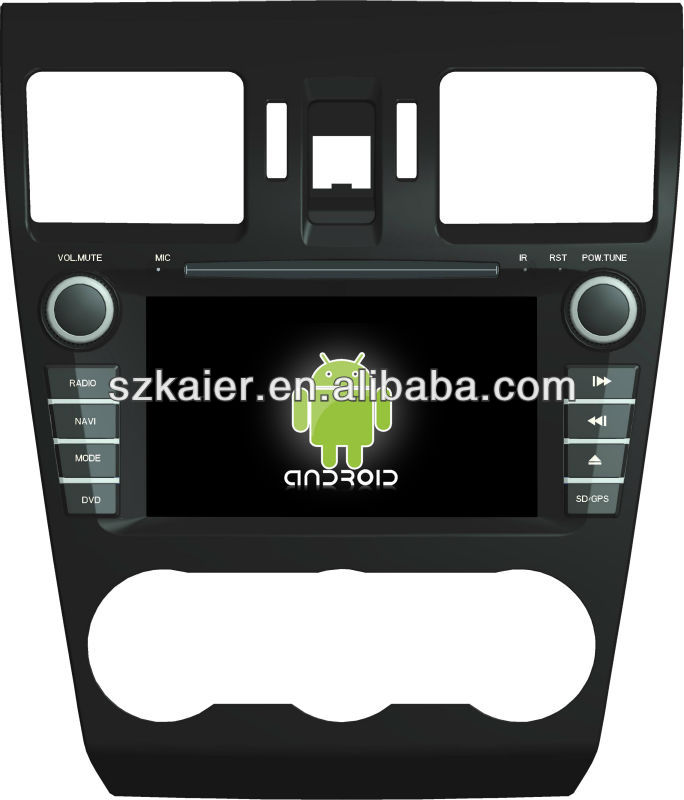 Android System car dvd player for Subaru Forester with GPS,Bluetooth,3G,ipod,Games,Dual Zone,Steering Wheel Control