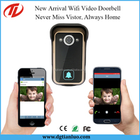 Mobile Wireless Wifi 3G IP Video Door Phone Entry System Compatible iOs and Android