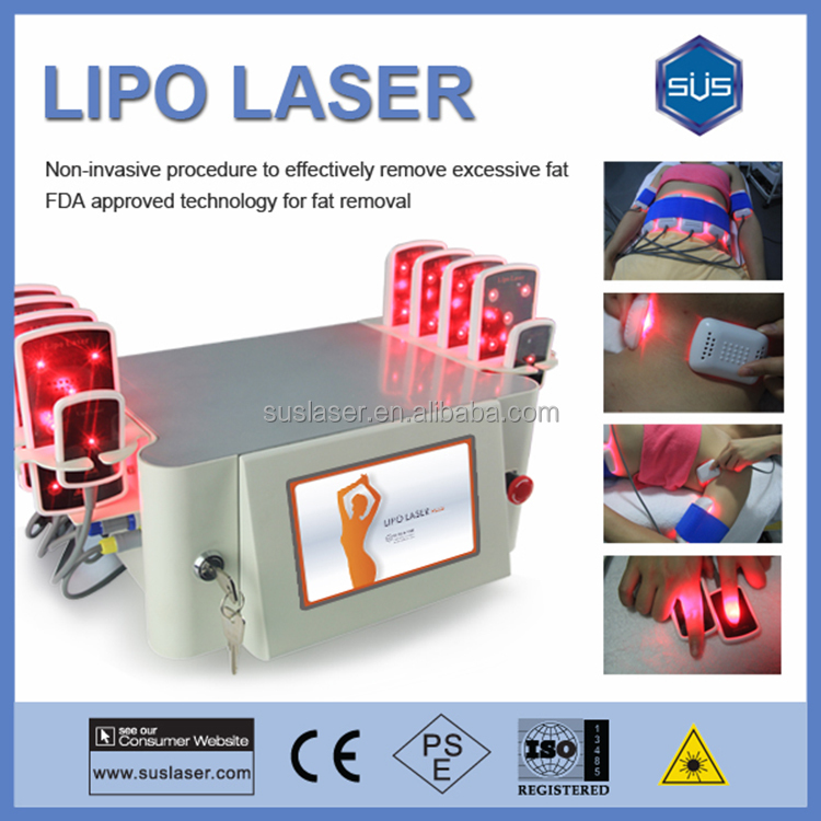 10 Paddles Ilipo Laser 650nm Wavelength Lipolaser Slimming Fat Removal Equipment For Salon Use