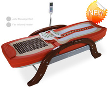 2015migun thermal AC 220V Auto Vibrating Electric Magnetic Therapeutic Far Infrared Jade Rolling Thermal Massage Bed