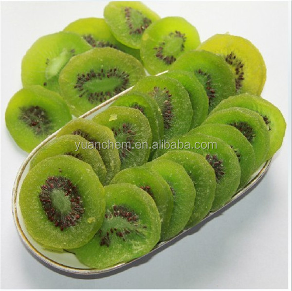 supply top quality chinese yellow sweet dried kiwi fruit with vacuum bag