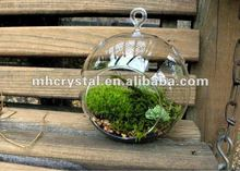 Air plant Round Glass Hollow Ball MH-12524
