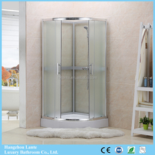 Hot Selling Lowes Prefabricated Free standing Glass Shower Enclosures