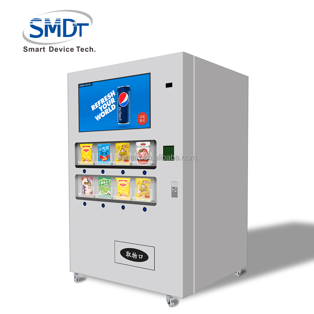 Convenience Store Can Retail Bottle Mini Mart Purified Credit Card Outdoor Slipper Small Vending Water Machine