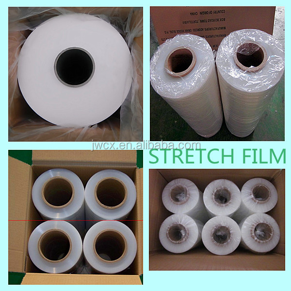 Pure PE pallet stretch wrap cling film