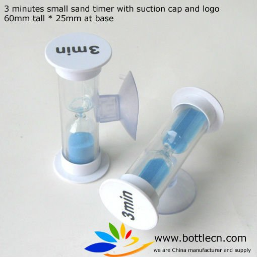 3 min sand timer with logo, hourglasses for sale plastic hourglass