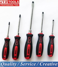 Taiwan made soft Plastic Handle Screw drivers and screw driver set