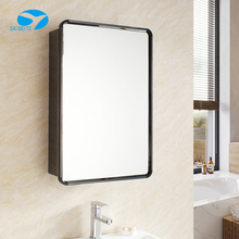 Bathroom Hanging Dressing Mirror with Stainless Steel Cabinet