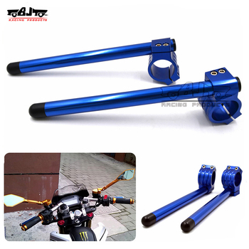 BJ-COHB-041 Universal Motorcycle 41mm CNC Billet Clip On Handlebar For Yamaha R25 R3