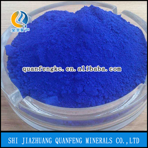 Ferric oxide Fe2o3 and red blue yellow pigments