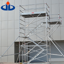 3.5 m Standing Height CE Certified Excellent Portable Scaffolding Stand Aluminum Mobile Scaffold Tower
