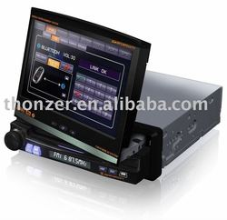 "7 inch Double DIN Car GPS DVD with 7"" Screen can turn left and right in 30 degree (TZ-DI712)"