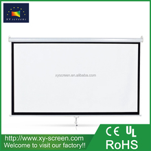 XYSCREEN front office equipment meeting room 120 inch manual projection screen