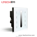 D5 DMX512 led touch panel controller dimmer 4-zone dimming control 100% factory supply