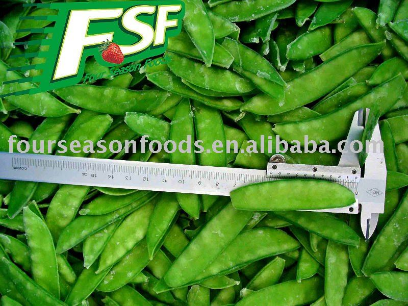 Delicious frozen snow pea pods, Chinese golden supplier