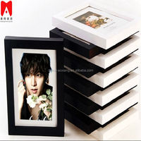 Colourful Plastic Picture Frame 4x6 5x7 6x8 8x10 Rames for oil paintings