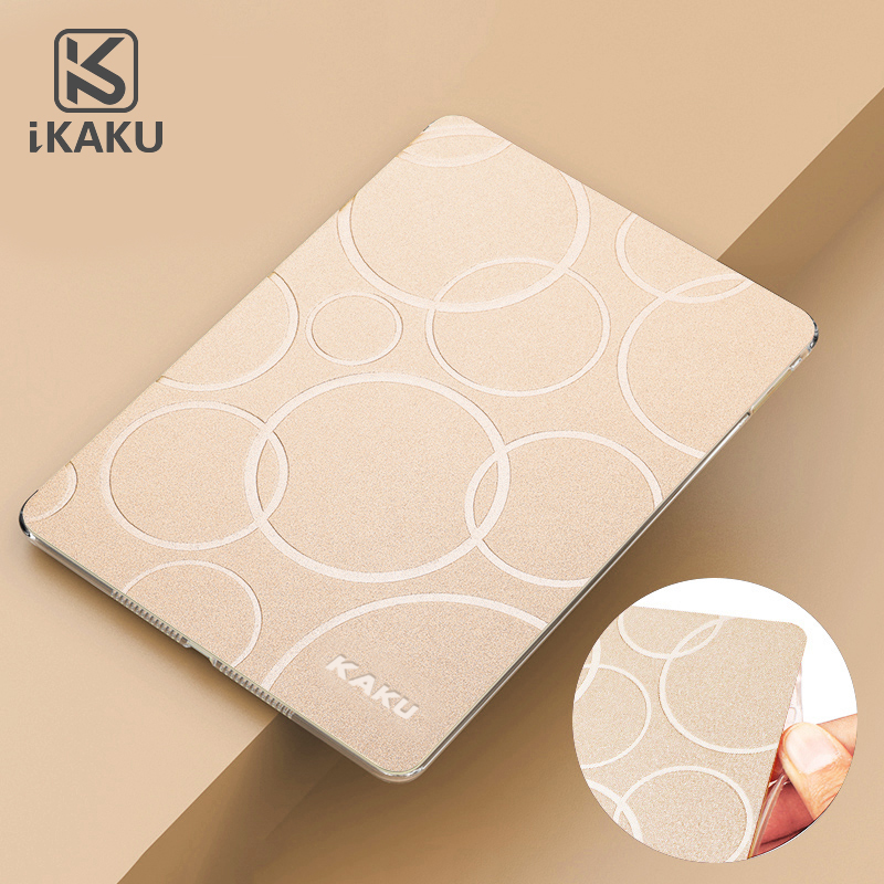 High Quality Useful Protective Colorful Tablet Smart Soft TPU Cover Flip PU leather Case For Ipad Air 2 Manufacturer