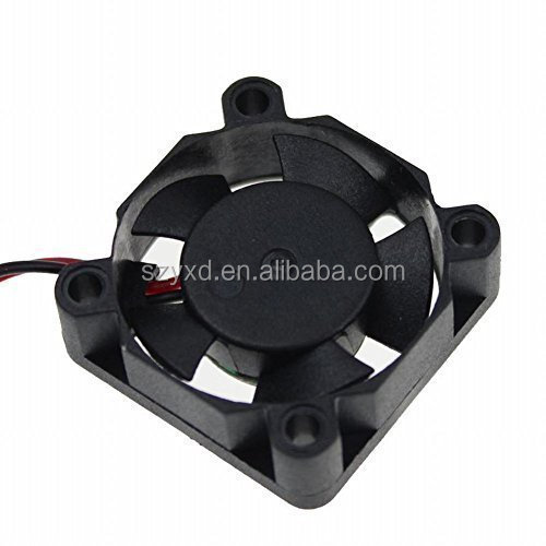 3010 Dc12v Quiet Brushless Cooling Fan Miniature Cooling Fans 2pin 30x30mm 5 Blade