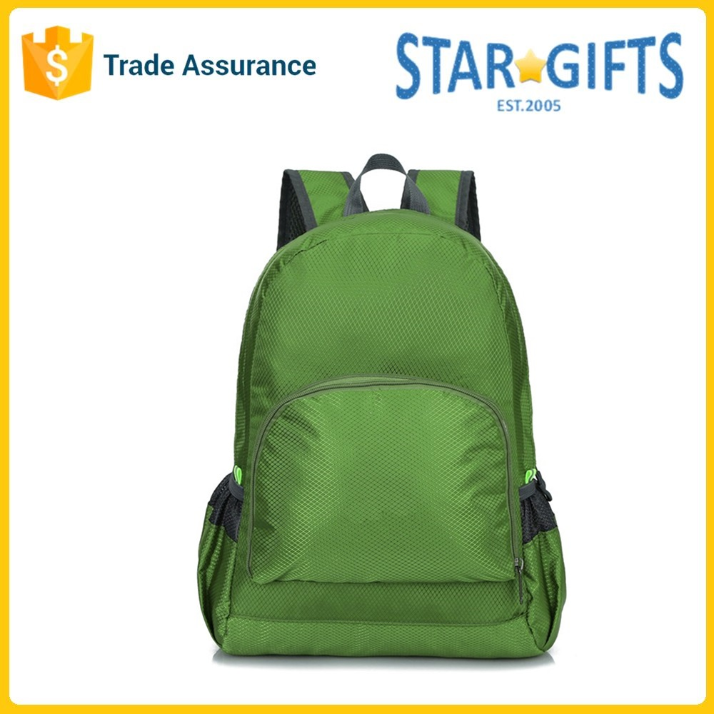 Custom High-capacity Canvas Promotional Backpack For Girls