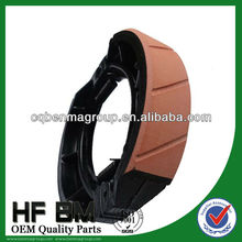 Raw Material of Brake Lining Motorcycle Spare Parts, Motorcycle GS125 Brake Shoe China Manufacturer Cheap Sell