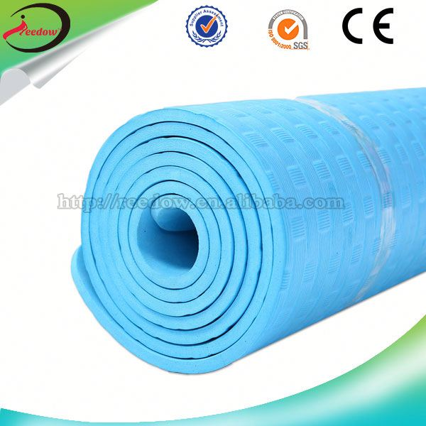 bottom price wholesale rolls nbr yoga mat pvc exercise equipment 1 piece free