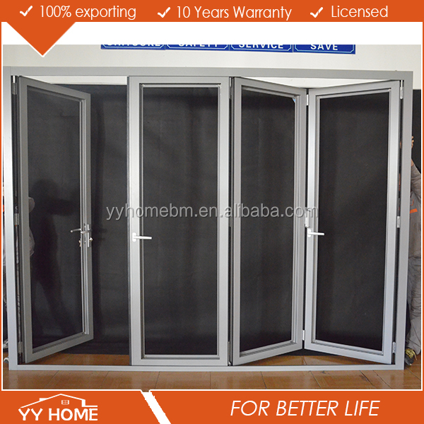 YY Home australia AS2047 standard used commercial standard size aluminum door and window