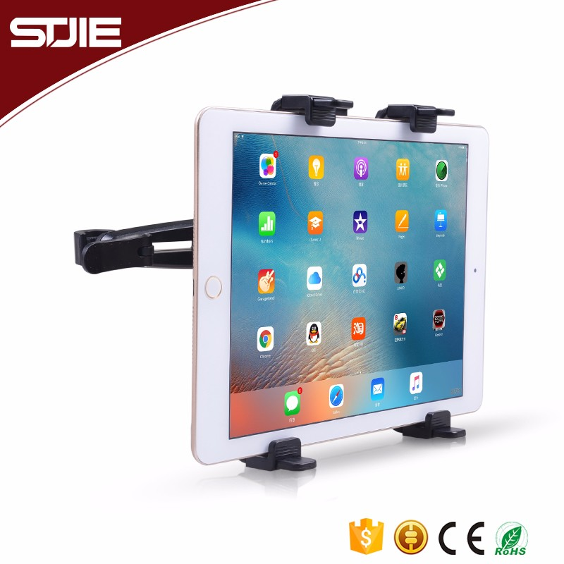 360 degree Rotating Flexible Car Mount Headrest Tablet Pc Stand Holder For Ipad
