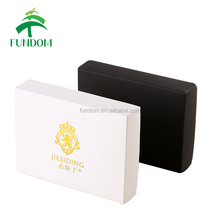 custom wholesale matte hot foil logo folding paper packaging shipping cheap black gift mailer boxes wholesale