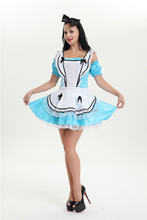 walson Party Carnival sexy girl alice in wonderland costume