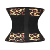 Private label flower rose print workout waist trainer belts for women