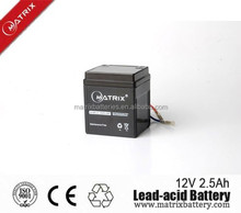 Hot Maintenance Free Motorcycle Battery 12V 2.5Ah