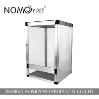 Nomo factory wholesale reptile display aluminum breeding cage