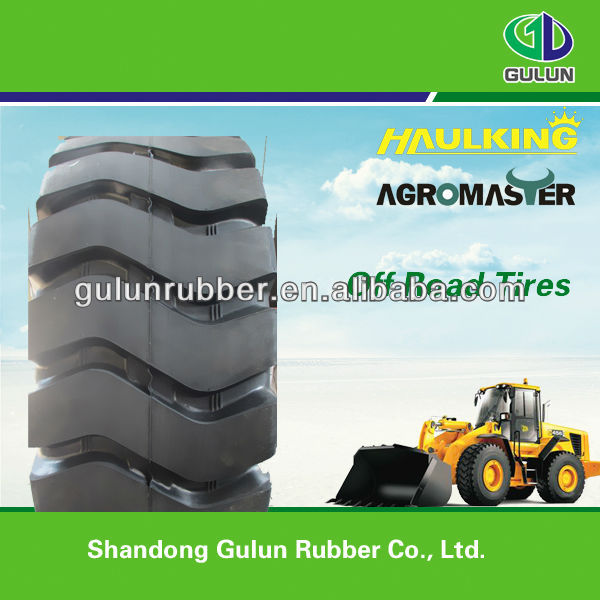 Payloader Tires for Construction Machinery New Tires 23.5-25 For Wholesale Headway Tire