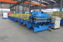 2015 national standard of Automatic Tile Roll Forming Machine with CE and ISO